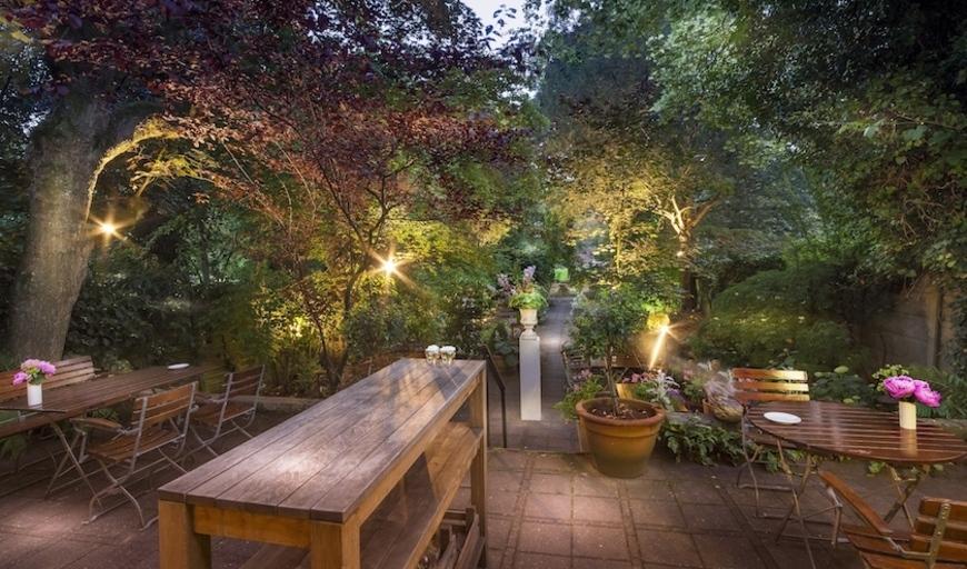 Tien restaurants met tuinen waarin je lekker kunt eten for De tuinen rotterdam