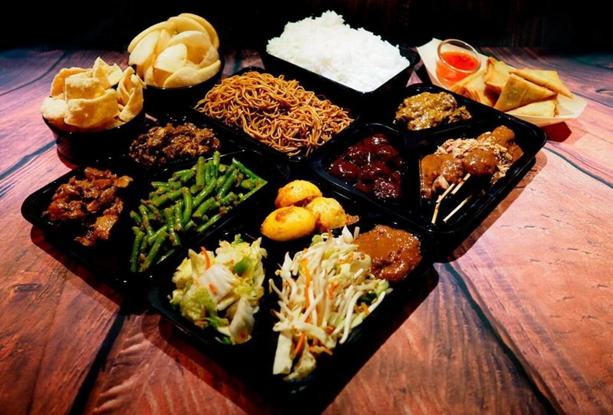 Kies indonesisch 9 x indonesische keuken in rotterdam for Vitrine indisch
