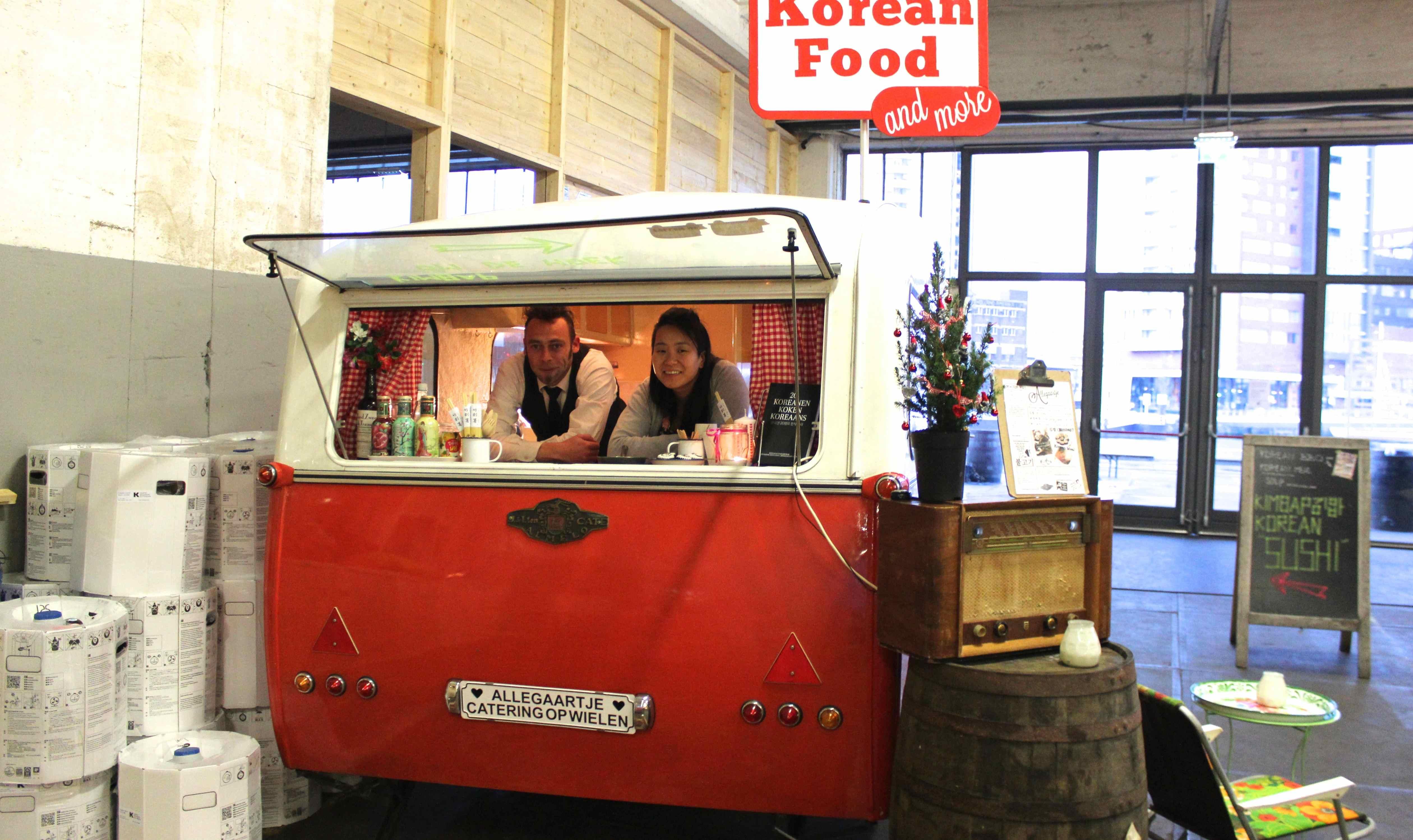 Allegaartje korean bbq vanuit een foodcaravan de buik van rotterdam - Eigentijdse barbecue ...